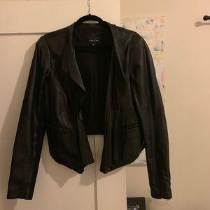 Trouve leather jacket, Sz L